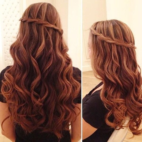 Cute Hairstyles For Wavy Hair Adorable 8 Romantic French Braided Hairstyles For Long Hair You Cannot Miss