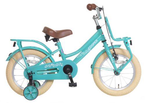 Popal Cooper 14 Kinderrad 14 Zoll Kinder Fahrrad Tuerkis Neu