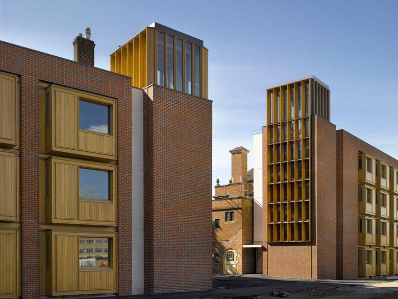 Studentenwohnheim In Oxford Studentenwohnheim Studentenhaus Architekt