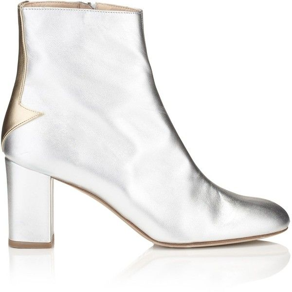 Camilla Elphick Silver Lining Ankle Boots ($965) ❤ liked on Polyvore  featuring shoes,