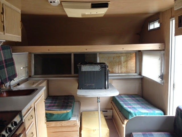 Each Step Of Renovating The Inside Of A 16 Foot Travelaire Trailer