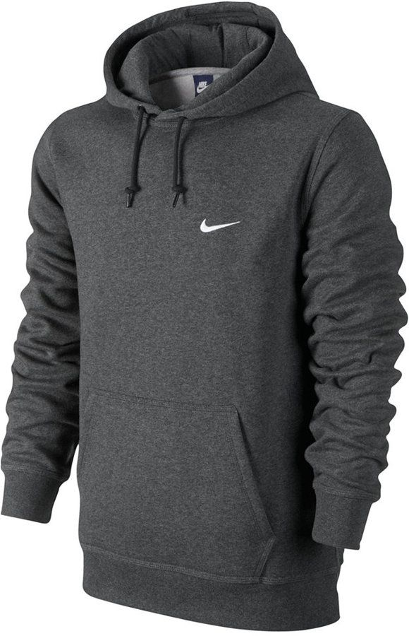 nike fleece over the hood hoodie