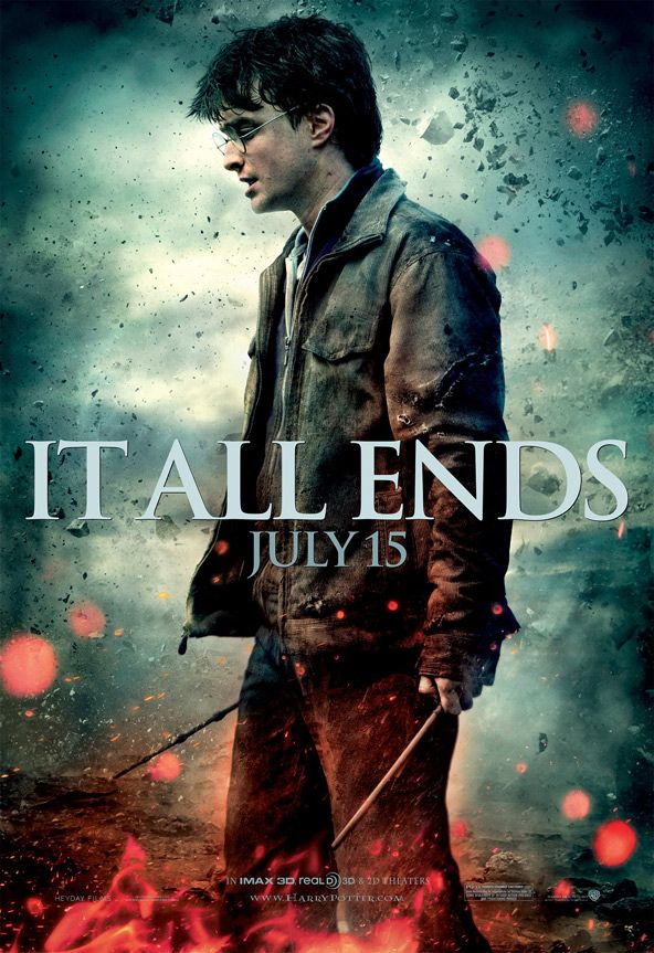 Yes Four More New It All Ends Posters For Deathly Hallows Part 2 Harry Potter Deathly Hallows Harry Potter Poster Deathly Hallows Part 2