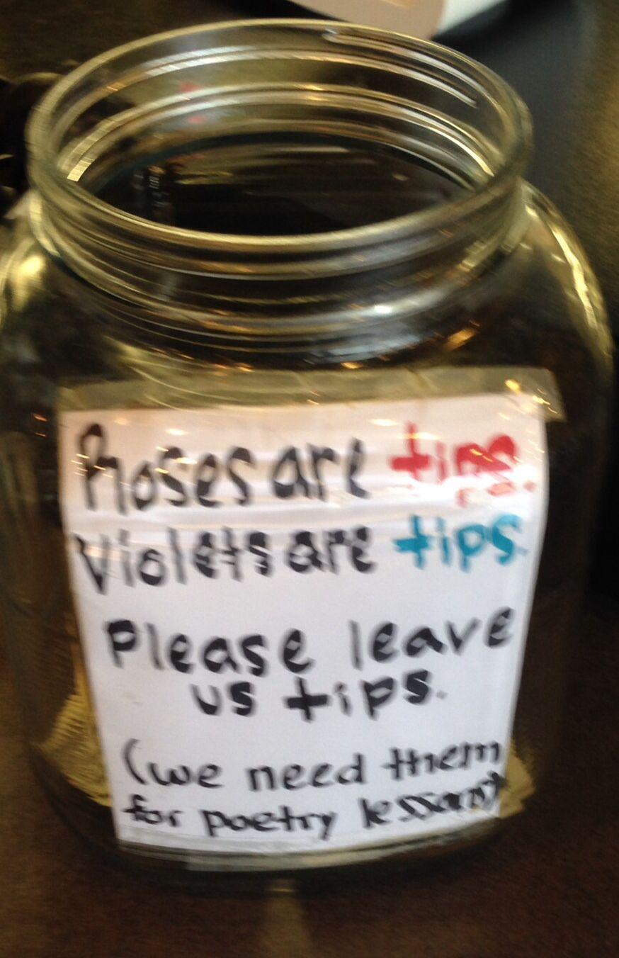 Tip Jar In Albany Ga Coffee Shop Funny Tip Jars Tip Jars Coffee Shop