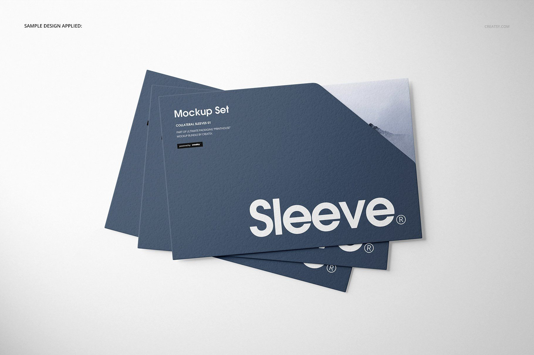 Collateral Sleeves Mockup Set 2 Icon Design Inspiration Graphic Design Studios Mockup