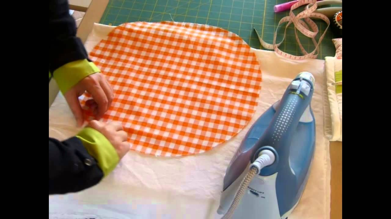 fabriquer un couvercle de bol en tissu couture bols en. Black Bedroom Furniture Sets. Home Design Ideas