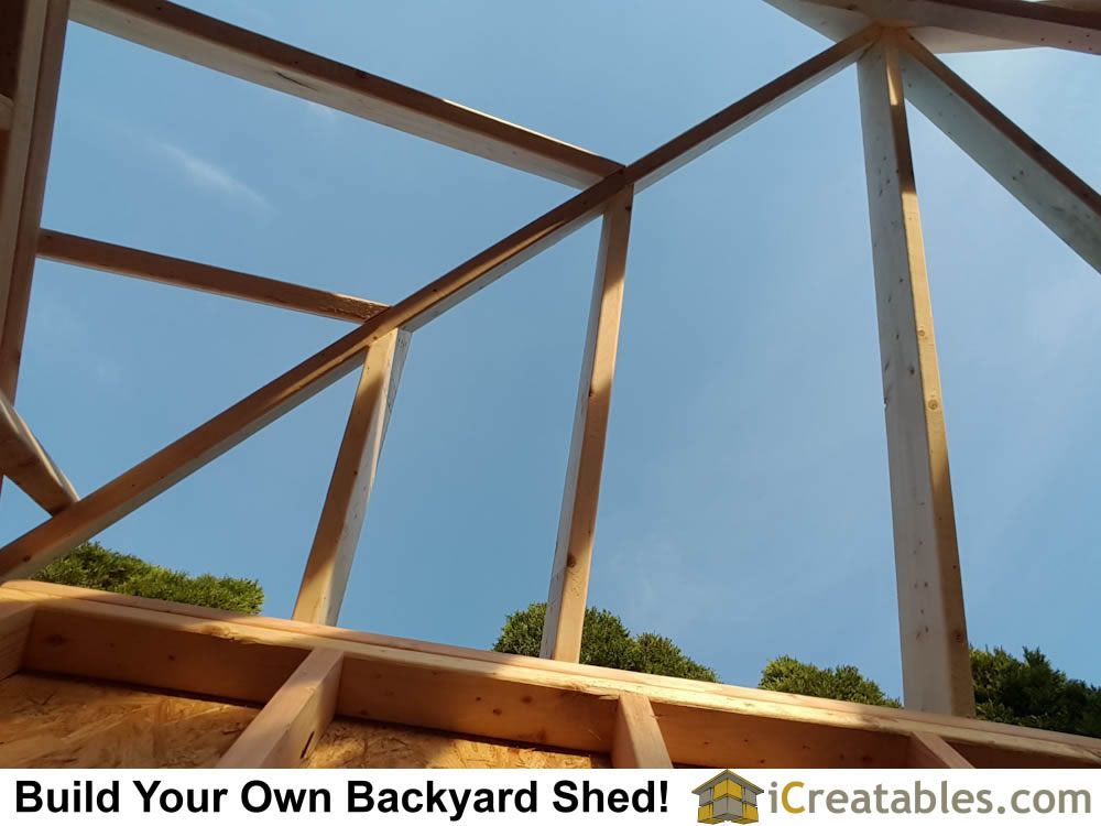 Hip Roof Shed Plans Photo Gallery In 2020 Hip Roof Shed Plans Shed