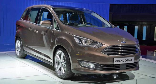 Paris Live 2015 Ford C Max Euro Spec Caribou Ford New