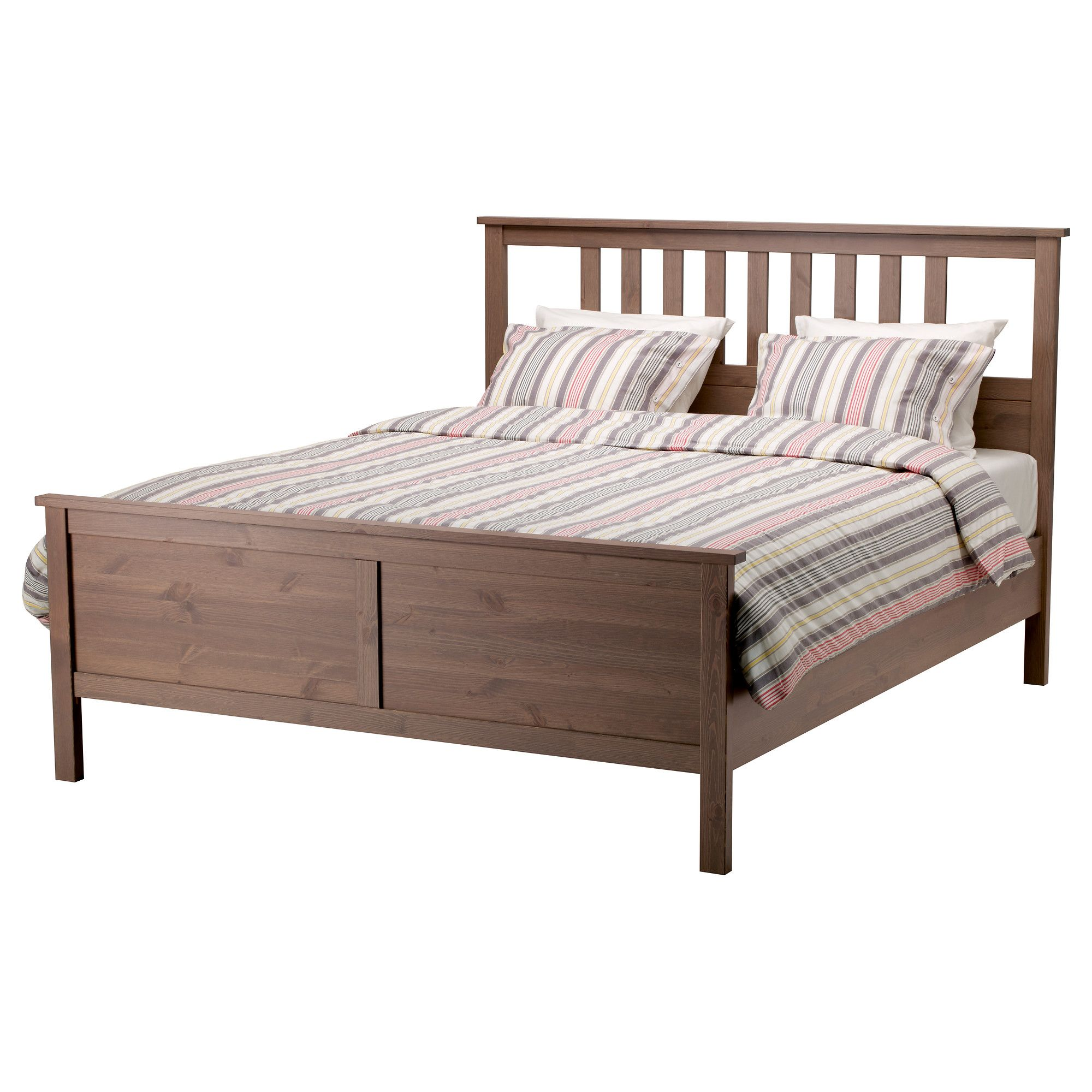 HEMNES Bed frame - Queen, - - IKEA $179- just a bed frame ...