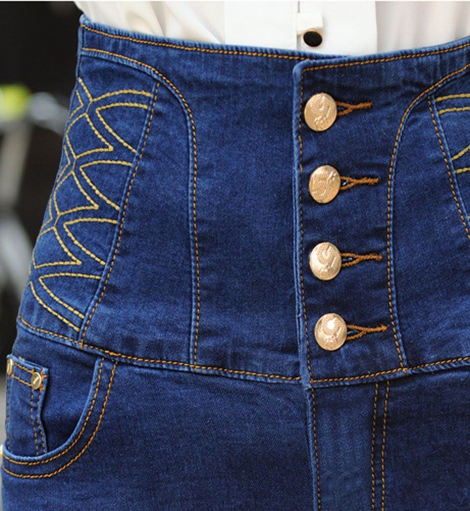 a0e7b0cfc768e Allonly Womens Fashion Slim Fit Stretch High Waisted Denim Jean Shorts Hot  Pants     You can get additional details at the image link.