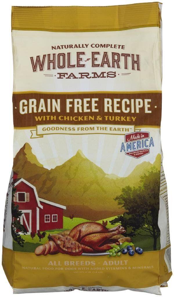 Merrick Whole Earth Farms Grain Free Chicken Turkey Dog Food