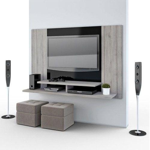 panel rack modular colgante lcd tv pared promo mod mileto Más