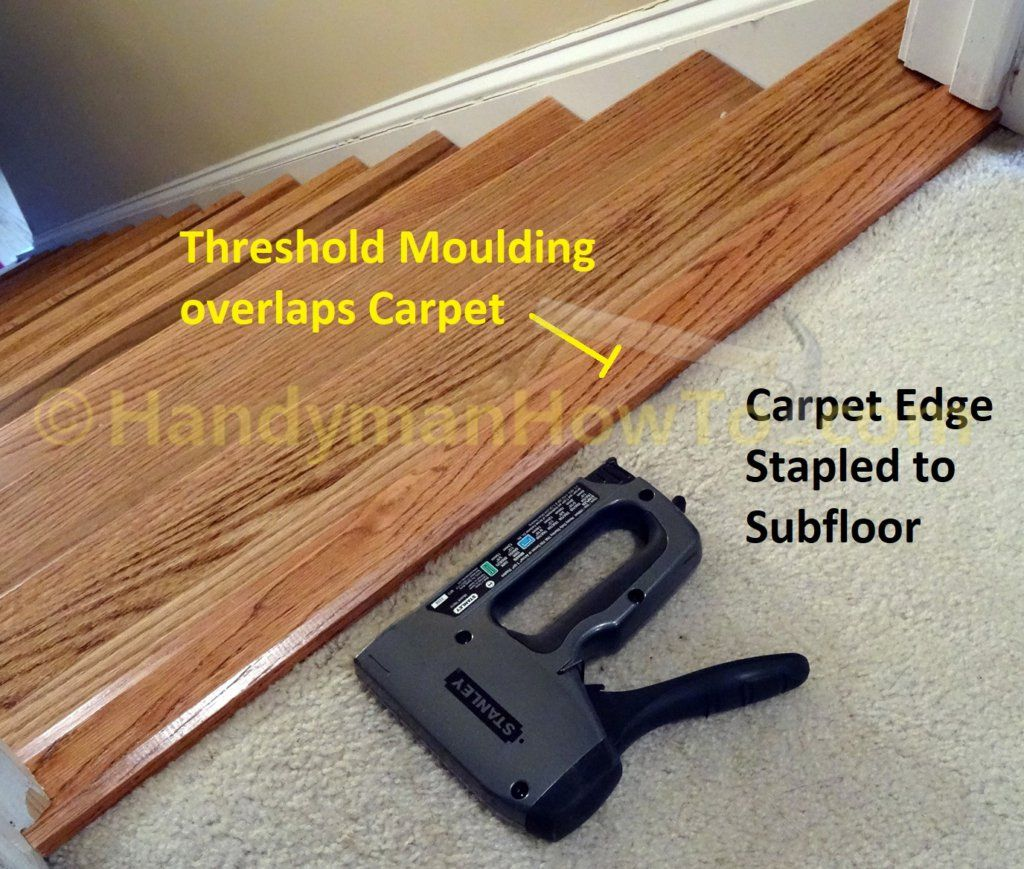 Best Carpet To Wood Stair Remodel How To Install Retrotreads 400 x 300