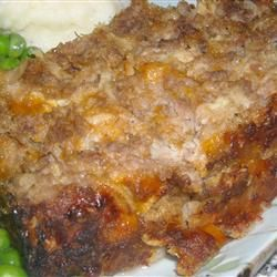Cheesy Apple and Oat Meatloaf Allrecipes.com