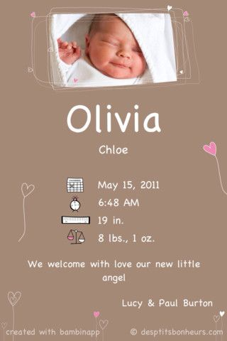 free birth announcement app for iphone apps and electronics
