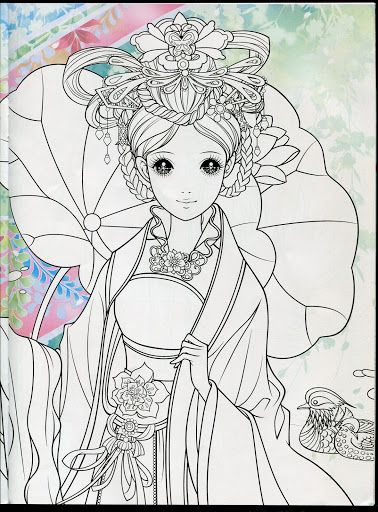 Princess Coloring Book 3 - Mama Mia - Picasa Web Albums   cổ trang ...