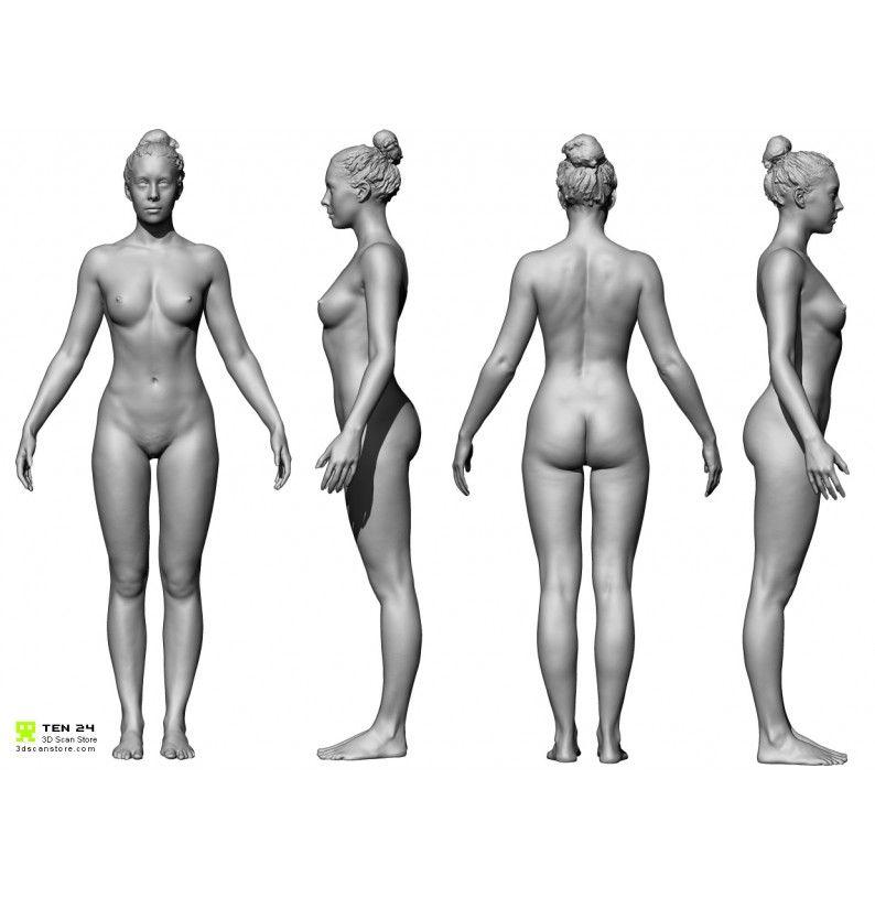 Male And Female Écorché Bundle | 3D scan | Pinterest