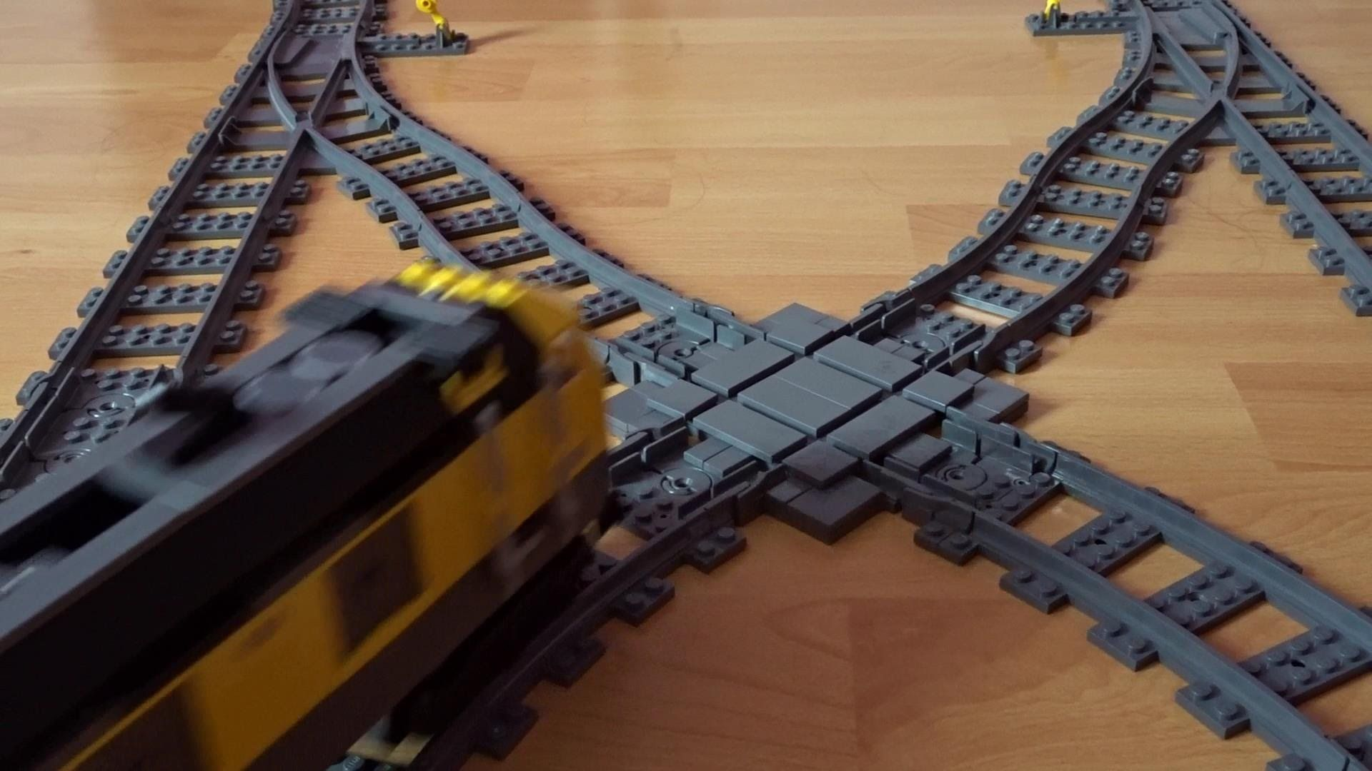 Lego Train X Cross Tutorial Lego Train Fabrication D Un Croisement Lego City Zug Eisenbahn Kreuzung Selbst Gebaut Tu Projets De Lego Idees Lego Train Lego City
