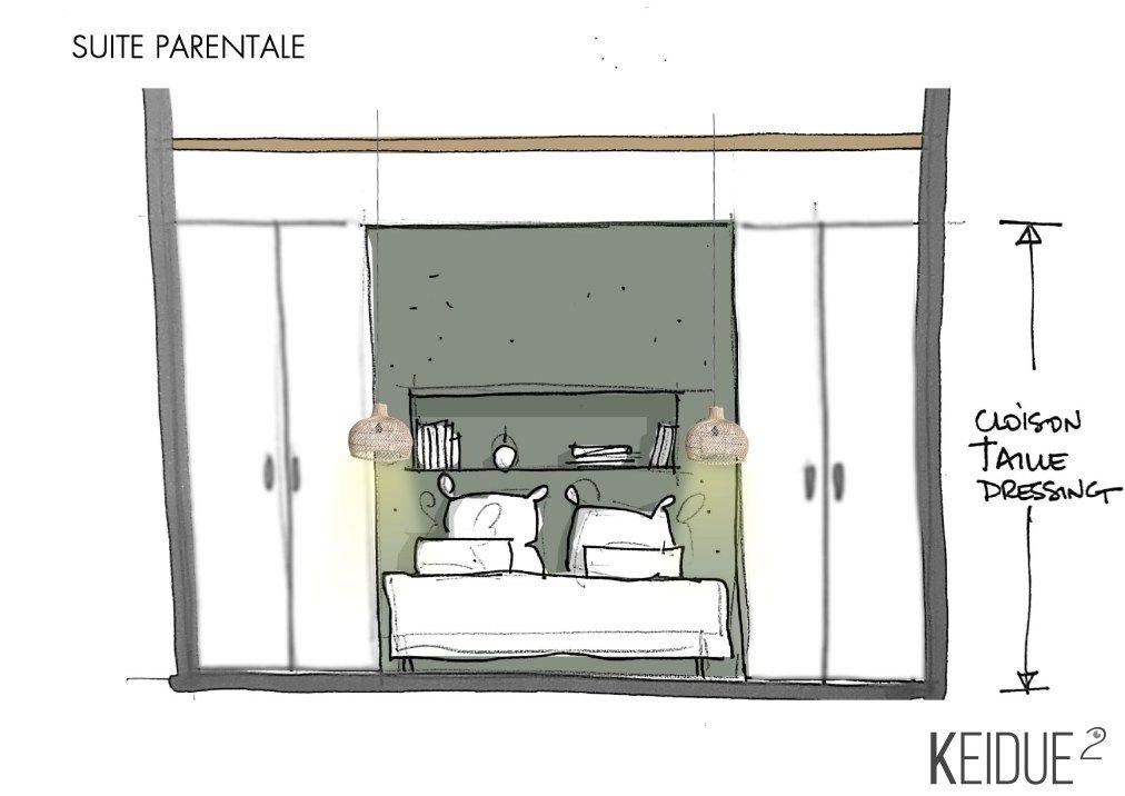 Projet Keidue²  Redistribuer les espaces du0027une maison \ transformer