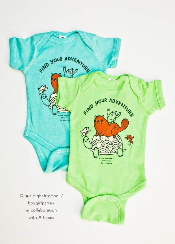 aee0dae6951fe Gender Neutral Baby Gifts -- unisex baby clothes newborn -- animal ...
