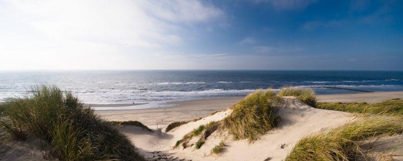 Het strand bij Schoorl