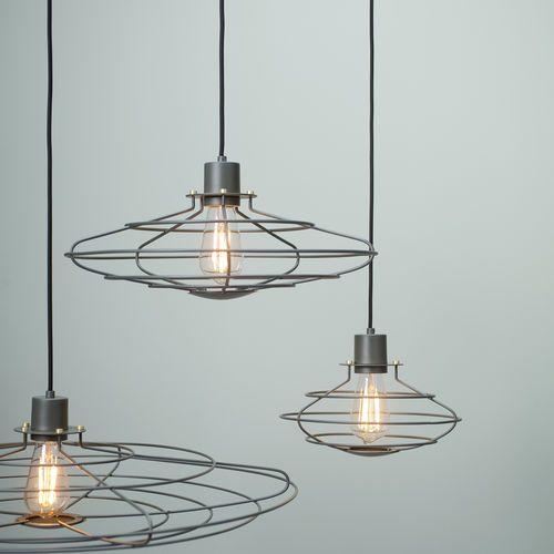 Radio By Francis Cayouette Suspension De Style Industriel En Metal Transparente By Watt A Lamp Lampe Decoration Meuble Salle De Bain Une Vasque Et Luminaire Solaire
