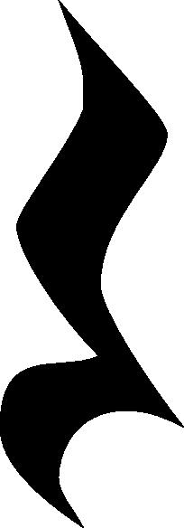 Music Quarter Rest Symbol Clip Art Quarter Rest Black No Stroke Clip Art Vector Clip Art Online Clip Art Symbols Art Music