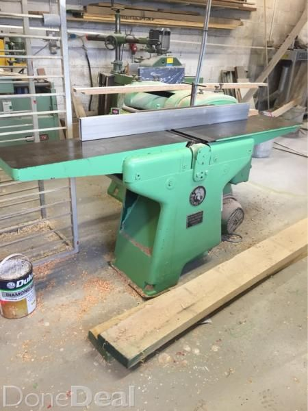 Surface Planerfor Sale In Cork On Vintage Machines Tools