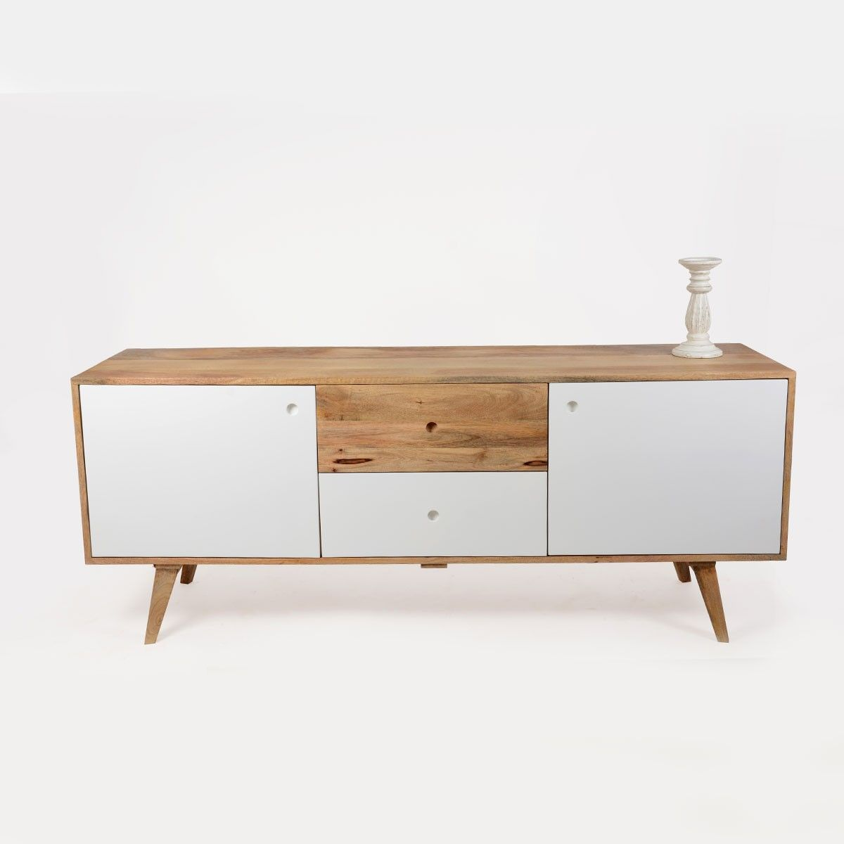 Buffet Scandinave Bois 2 Portes Artiq Buffet # Meuble Tv Jacobson