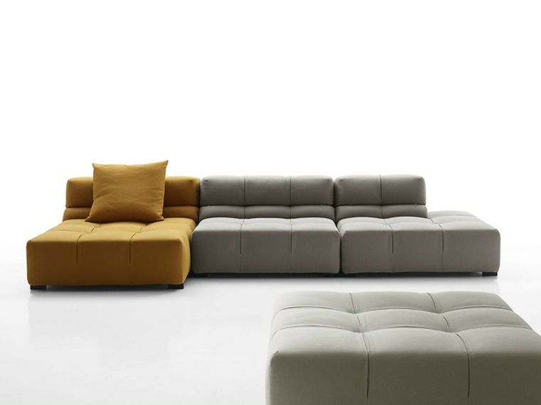 Canapés Modulables Italiens Design Nos Coups De Cœur Salons - Canapés modulables design