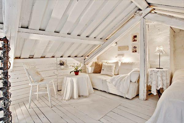 [Loft] Un loft en ladrillo visto, blanco y madera
