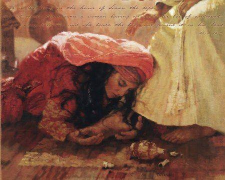 Image result for prophetic art alabaster box