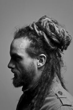 Dreadlocks in profile. Could even be a formal look for the guys.