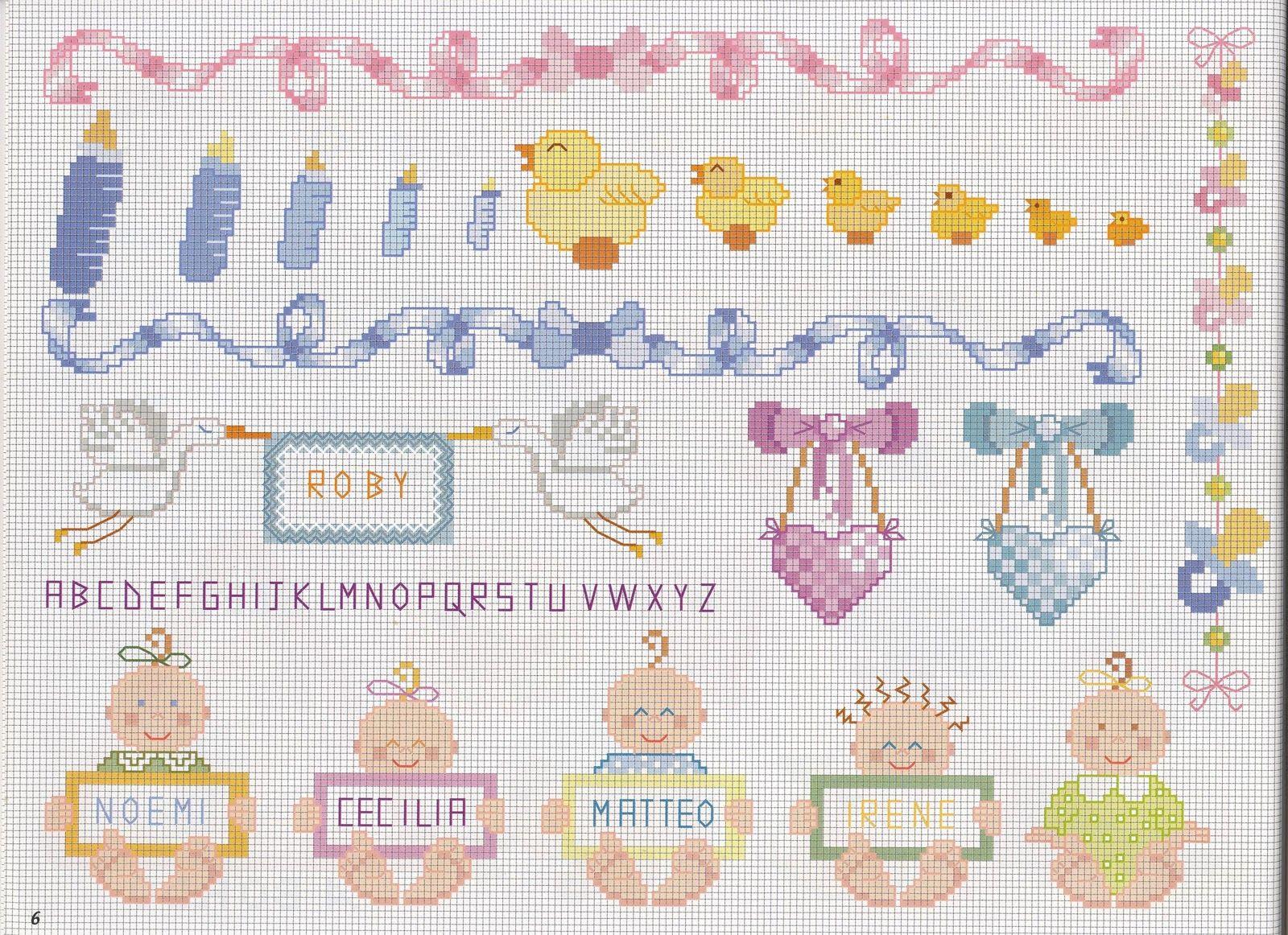Pin By Maura Montesano On Punto Croce Cross Stitch Baby Stitch