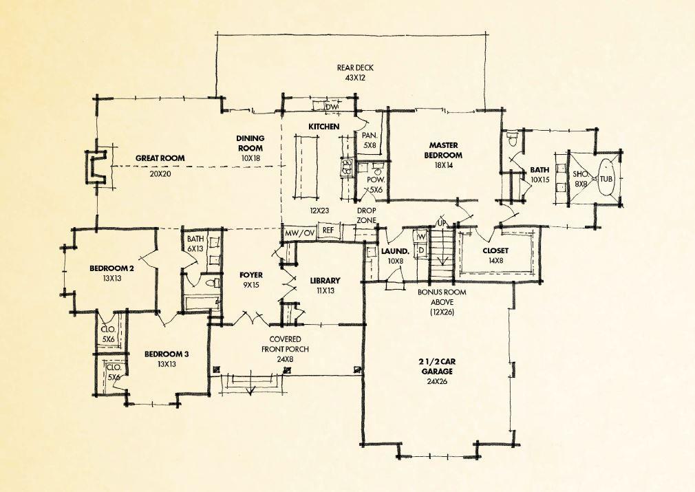 Homes Crockett Jasper Highlands How To Plan House Plans Home