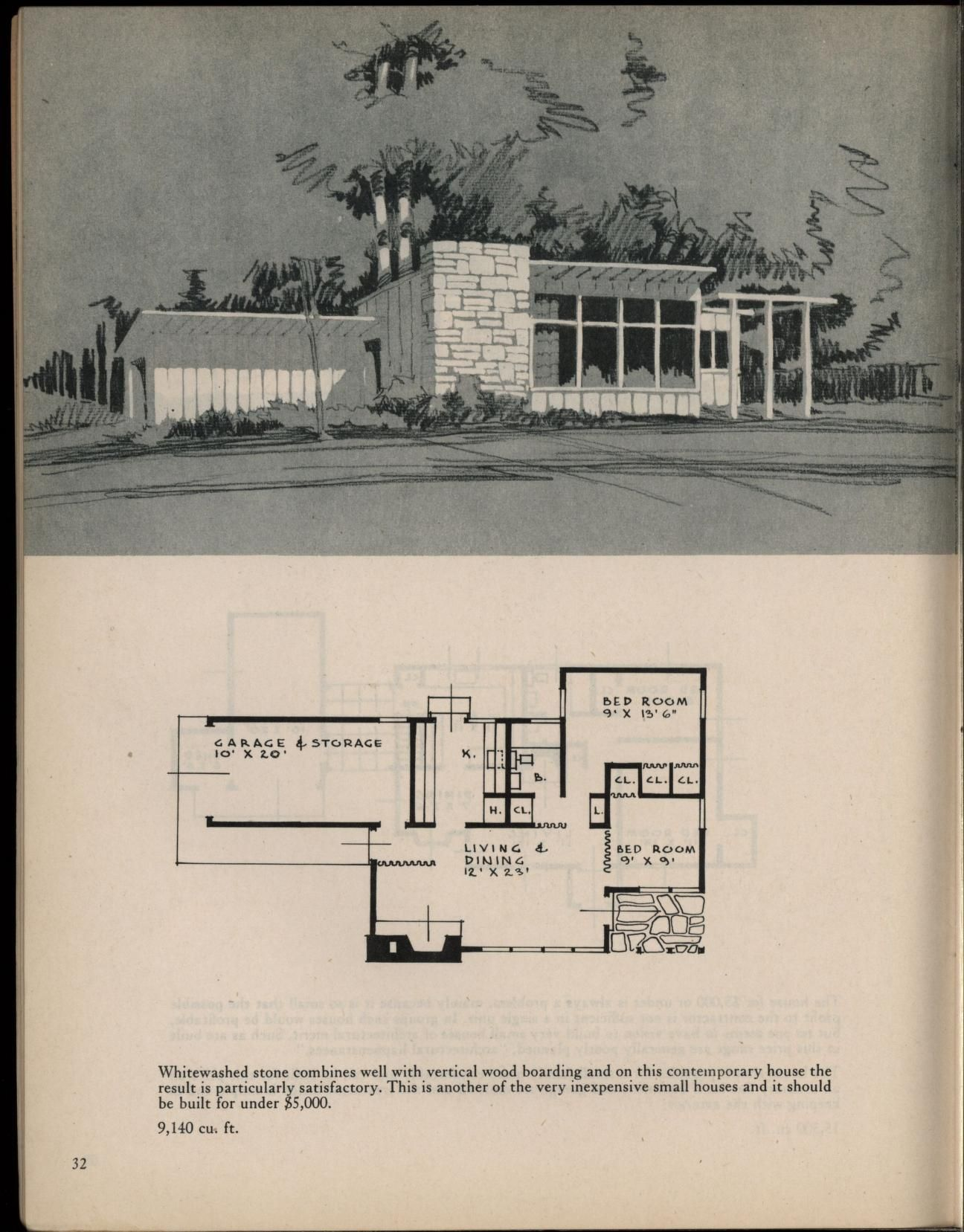 Houses For Homemakers Mid Century Modern House House Plans Vintage House Plans