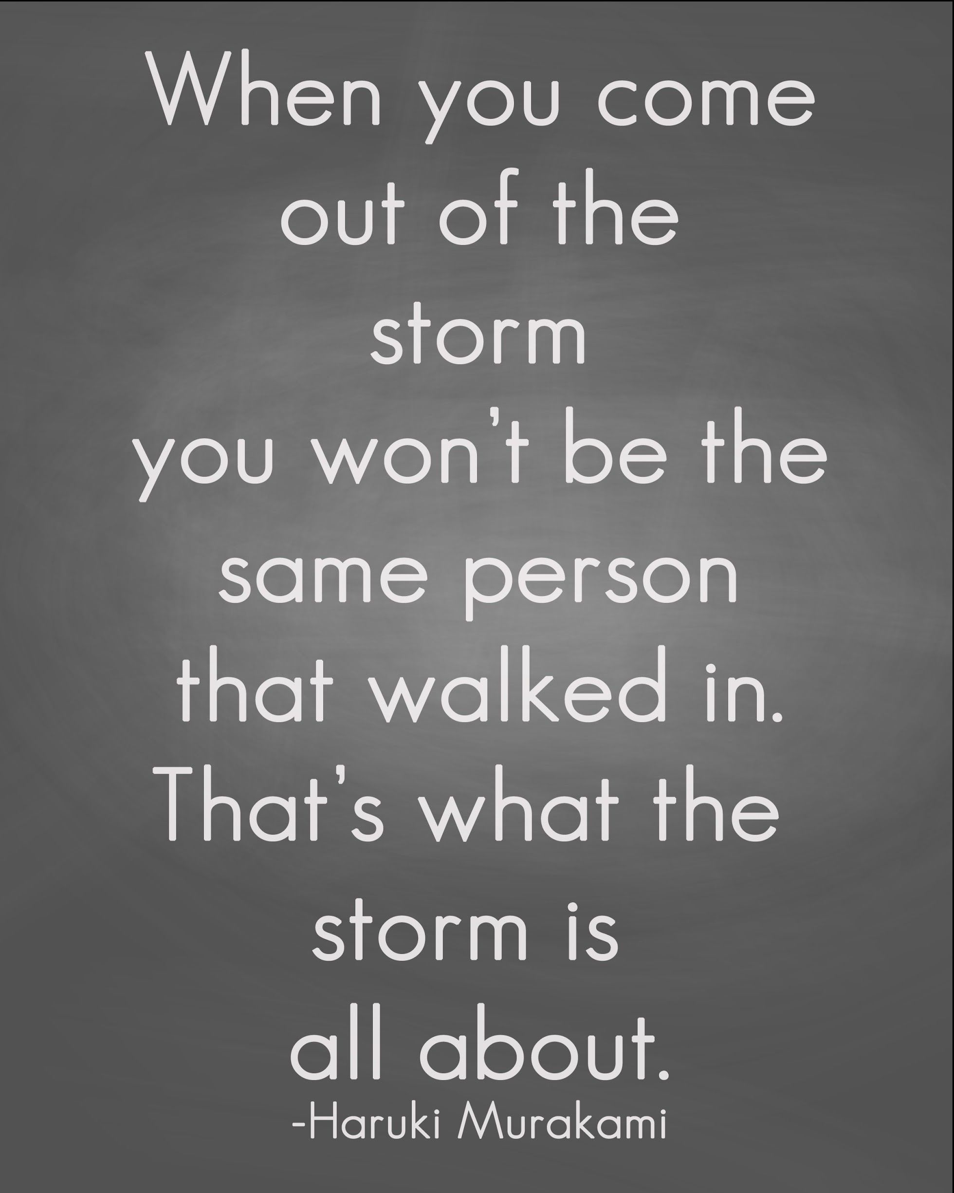 Spiritual Motivational Quotes Displaying Storm Quote  Uplifting & Inspirational Or Maybe