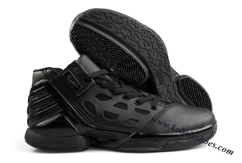 aff1c98c4c6f Adidas Adizero Rose 2.0 Derrick Rose Shoes All Black