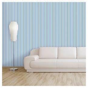 Devine Color Stripe Peel & Stick Wallpaper Crest