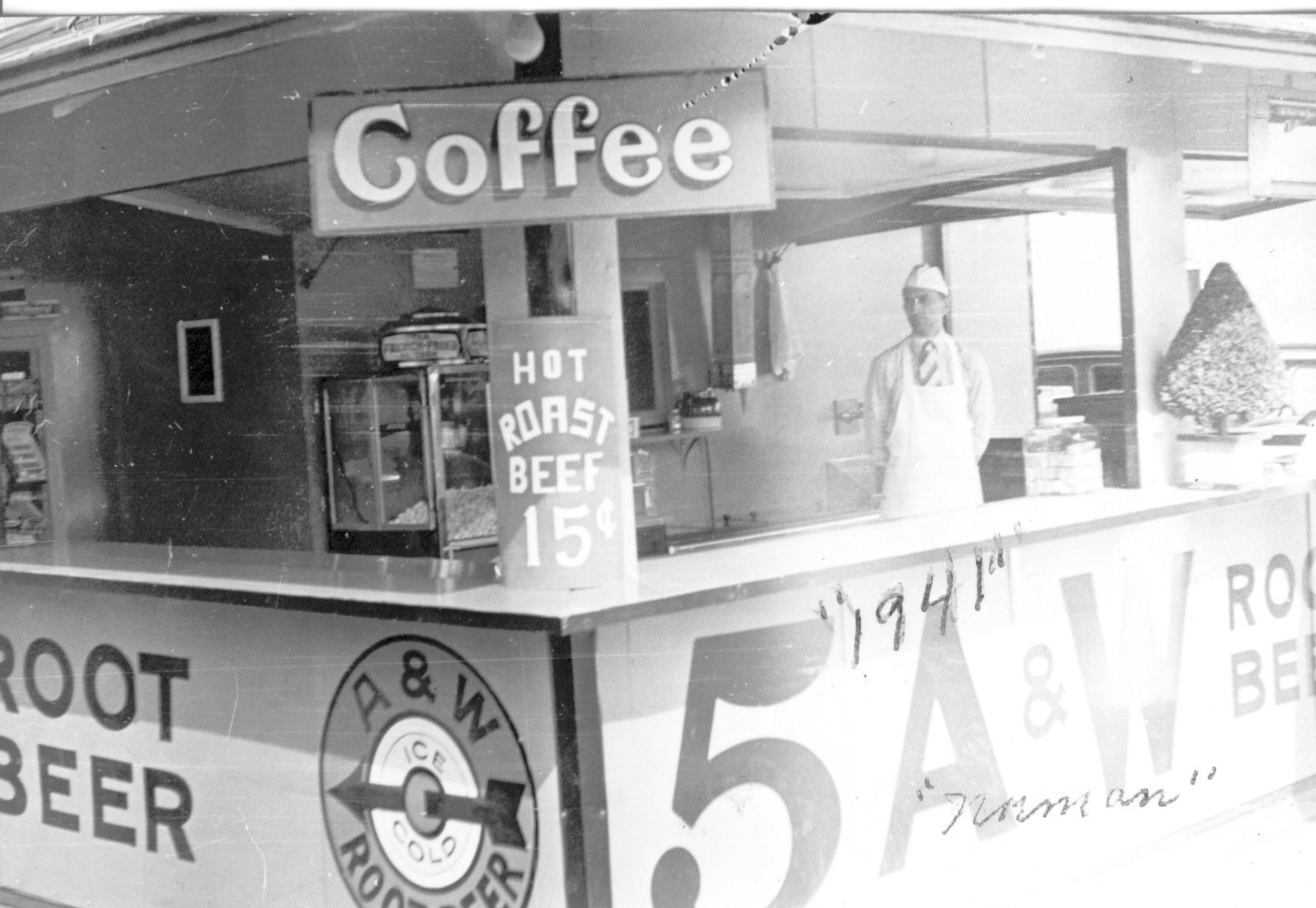 A W Root Beer Stand In Chippewa Falls Wisconsin In 1941 Beer