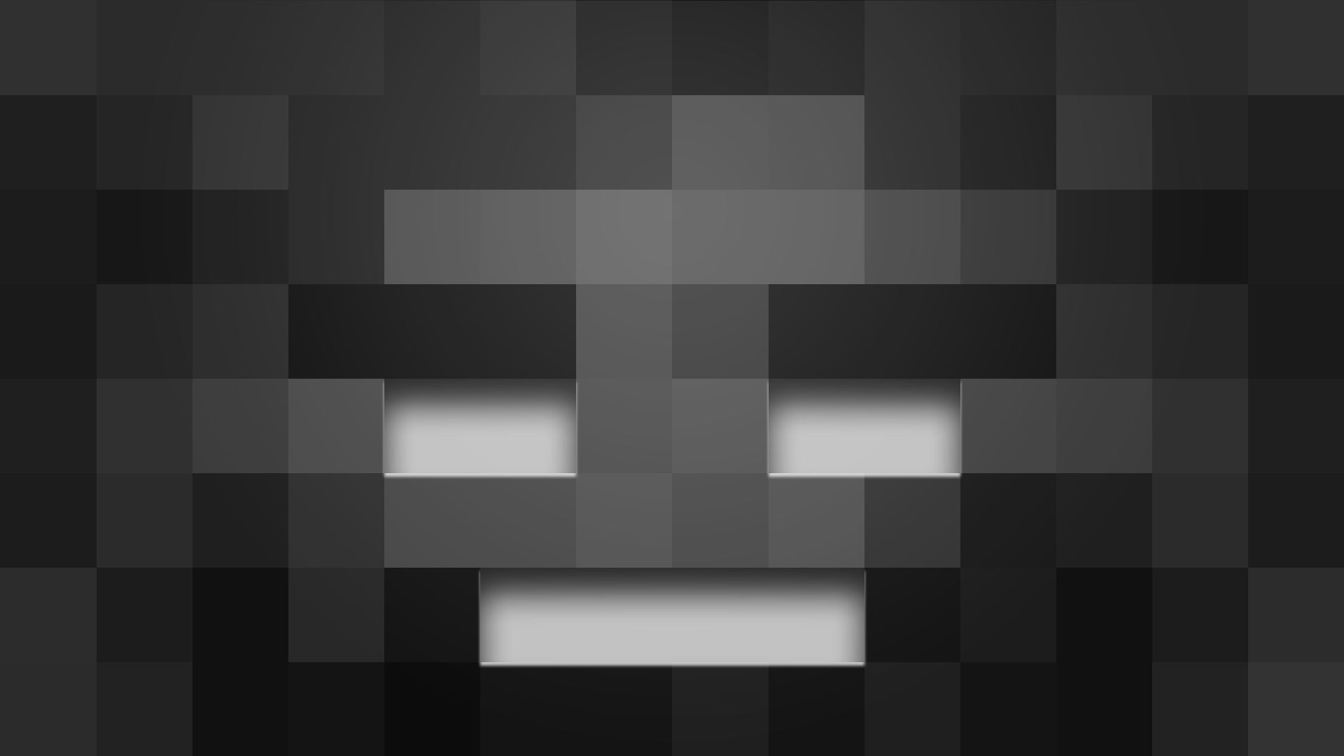 Minecraft Mob Wither Skeleton Face Hd Wallpaper