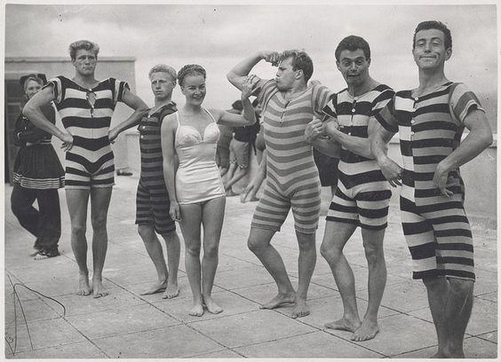 Traje De Bano 1945 1950 Trajes De Bano Vintage Fotos De Epoca