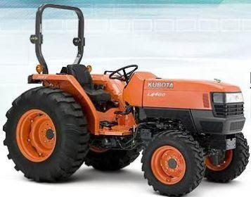 kubota workshop service repair manual kubota l4400 tractor rh pinterest com repair manual for kubota tractor parts manual for kubota tractor