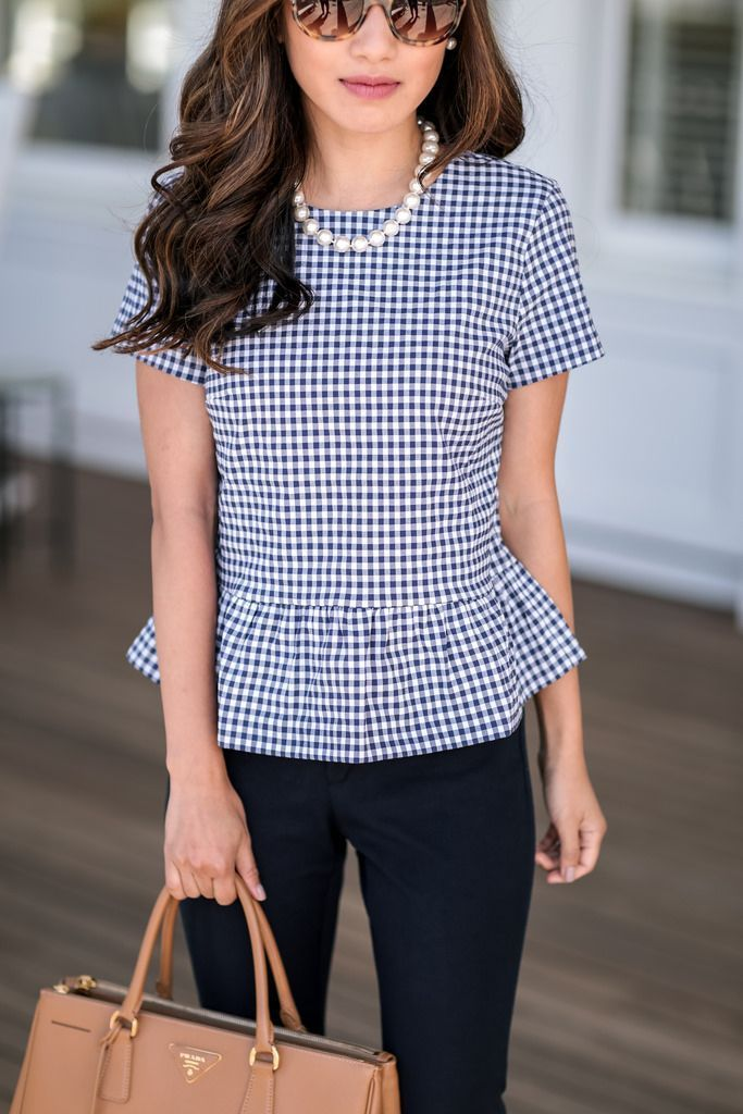 Peplum Swing Top for Work-to-Weekend Outfits