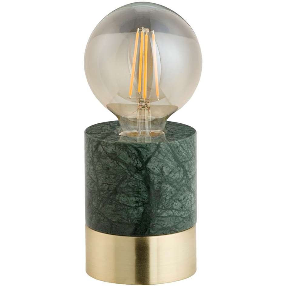 Tafellamp Marmer Groen Tafellamp Groen Verlichting