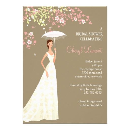 Discount DealsShowers of Happiness Bridal Shower InvitationYes I can ...