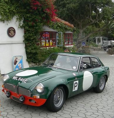 Historic Rally & Classic Race Cars: MGC GT - O último works