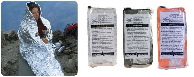 Blizzard Bag Take This As Your Bivy In Pack For Snowshoeing Day Trips
