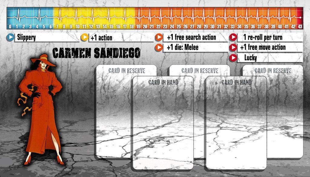 Zombicide Carmen Sandiego By Brunoweasel On Deviantart Gotham