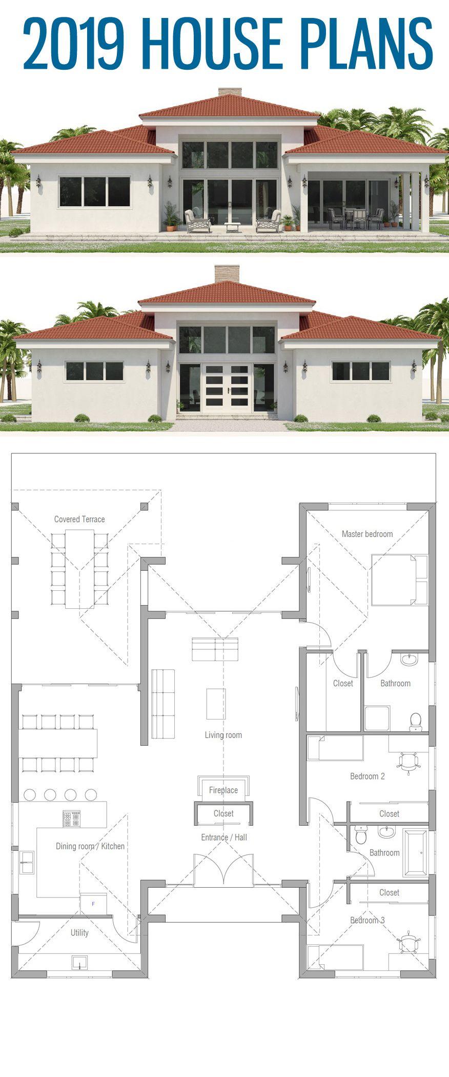 Small House Plan Small Home Plans House Plans 2019 House Layouts Sims House Plans New House Plans